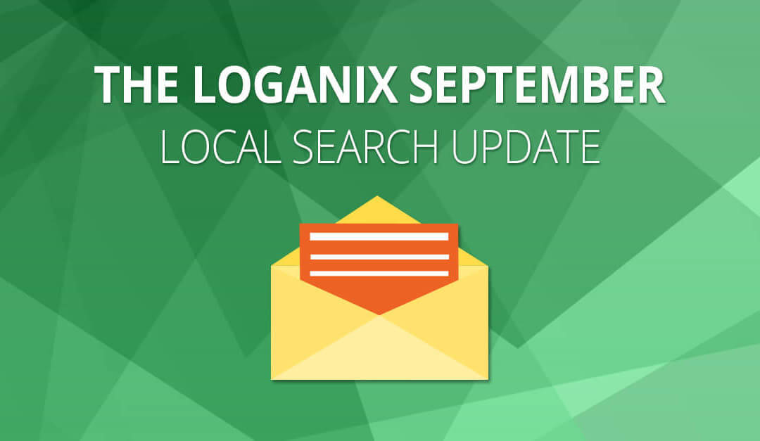 The Latest in Local Search for September