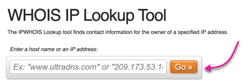 whois dns lookup tool